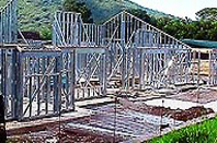 Steel House Framing