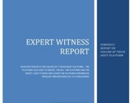 Forensics Expert Witness Reports